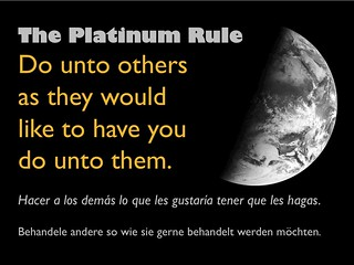 the platinum rule | by planeta