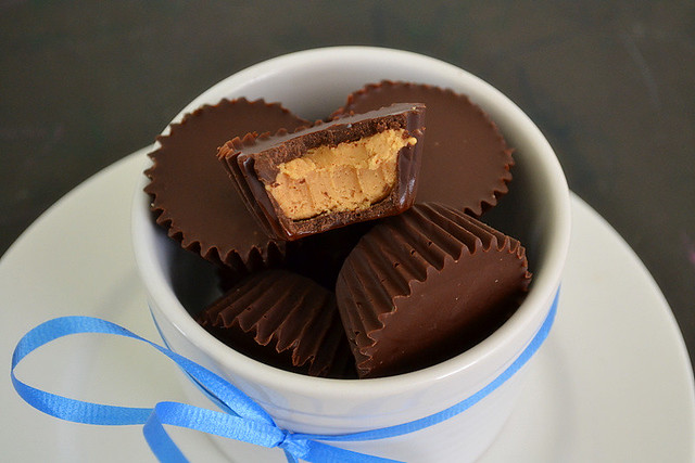 Mini Salted Chocolate & Peanut Butter Cups | Flickr ...