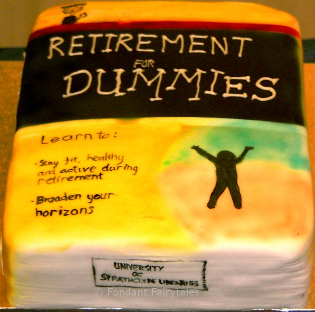 Retirement Cake Library Book Flickr Photo Sharing