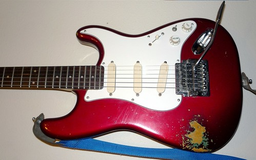 Ye Olde Red '86 Strat | by Joe Silence