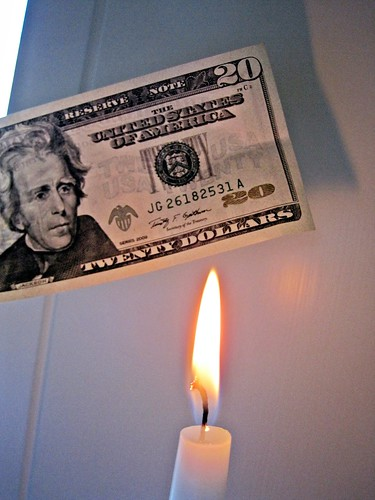 Burning Bill | by Images_of_Money