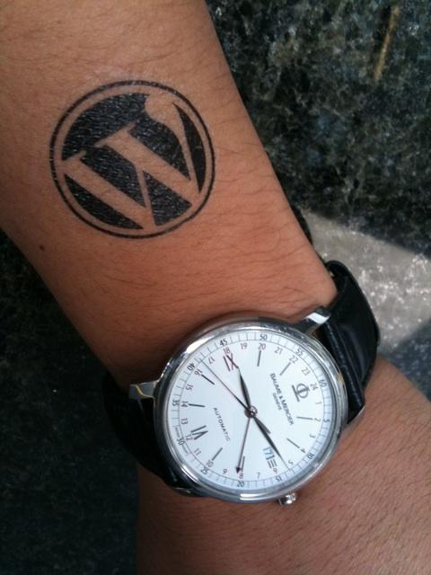 WordPress Tattoo - Takamorry - Flickr