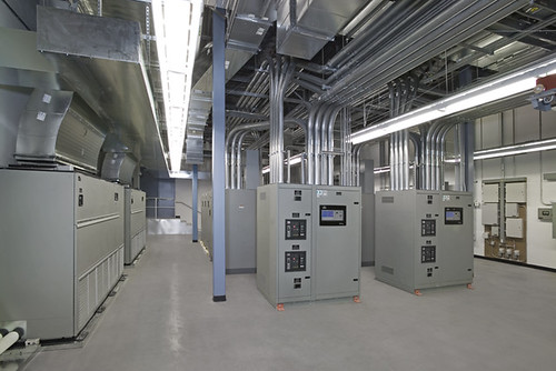 Ups Room Sili Valley Data Center Ups Room At A Silicon