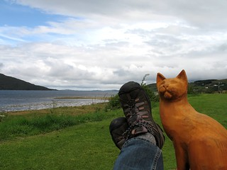 Cat_Fijord_Scotland | by virtualwayfarer