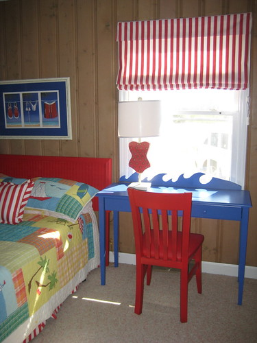 Beach House Kids Room | by PoshSurfside.com