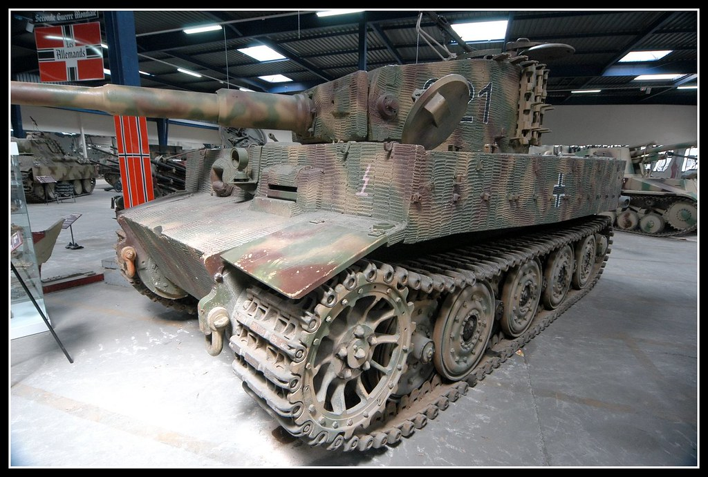 tiger musee des blindes saumur tiger tank there are fiv flickr. Black Bedroom Furniture Sets. Home Design Ideas