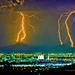 Phoenix Arizona Lightning Thunderstorm Lightning Strikes