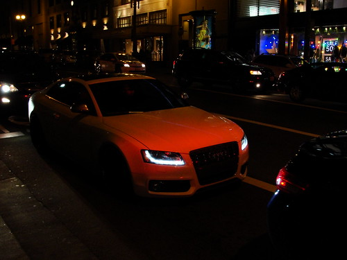 audi S5 glowing | by WFoxPhotography