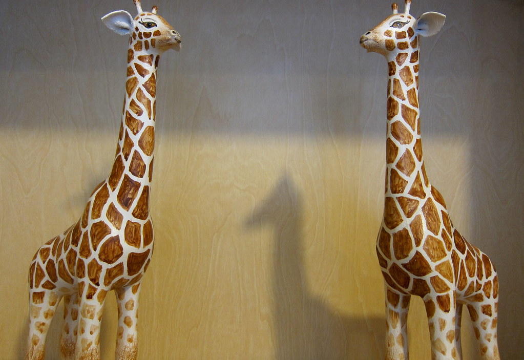 Papier Mache Giraffes Designed And Hand Made By Jim