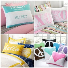 PB Teen Pillows / Feb 2010 | by Jessie {Creating Happy}
