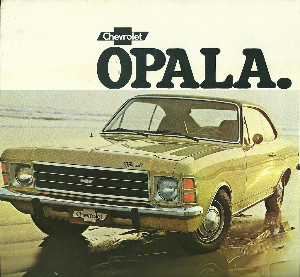 1977 Chevrolet Opala Coupe More Chevrolet Advertising