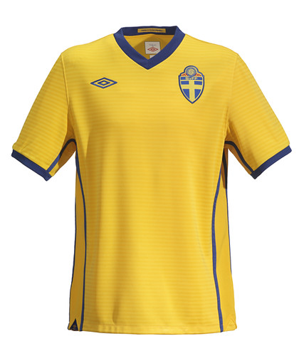 New Umbro Sweden Football Kit The New Umbro Sweden Home Ki Flickr