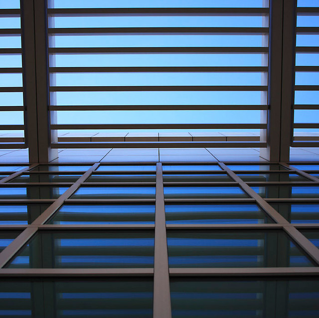 Getty Center Skylight Architectural Detail Www