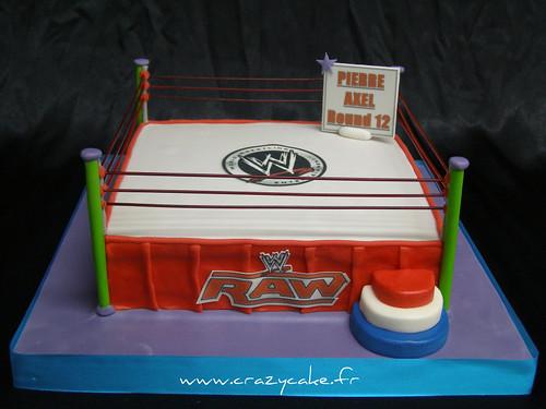 Wrestling Ring Cake Cake Designer 57 Moselle France