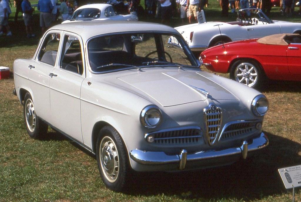 1955 Alfa Romeo Giulietta Berlina Richard Spiegelman Flickr