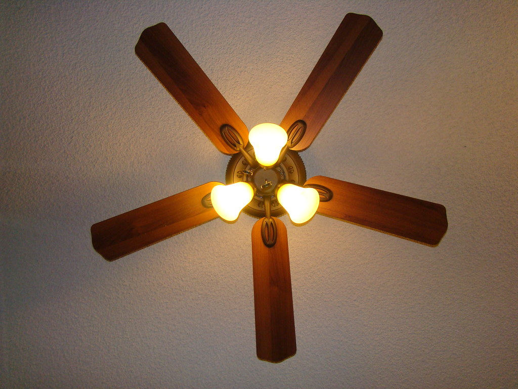 Bedroom Ceiling Fan With Light Kit Brown A Bear Flickr