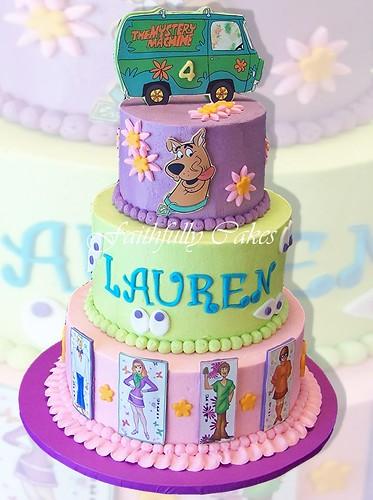 Scooby Doo 4 Yr Old Girl Birthday Faithfullycakes Flickr