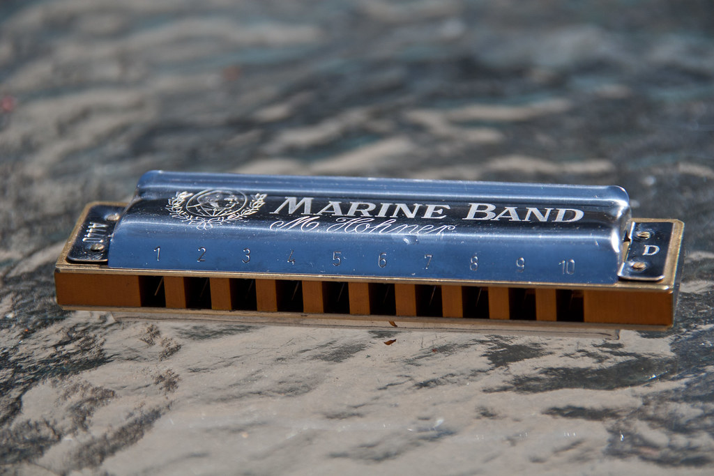 Blues Harp | Hohner Marine Band harmonica in the key of D ...