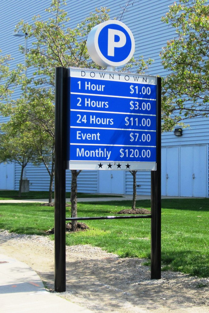 City Of Columbus Wayfinding Parking Directory Signage Flickr