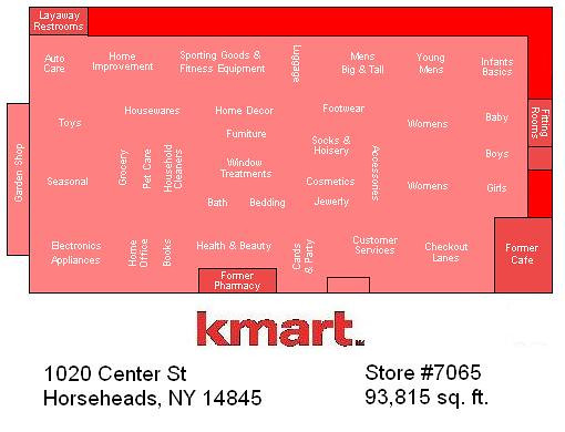 Horseheads kmart store map kmart store map made using pai flickr horseheads kmart store map by random retail gumiabroncs Choice Image