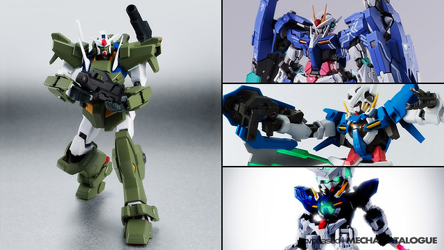 Tamashii Pick Up - Gundam 00 10th Annivesary