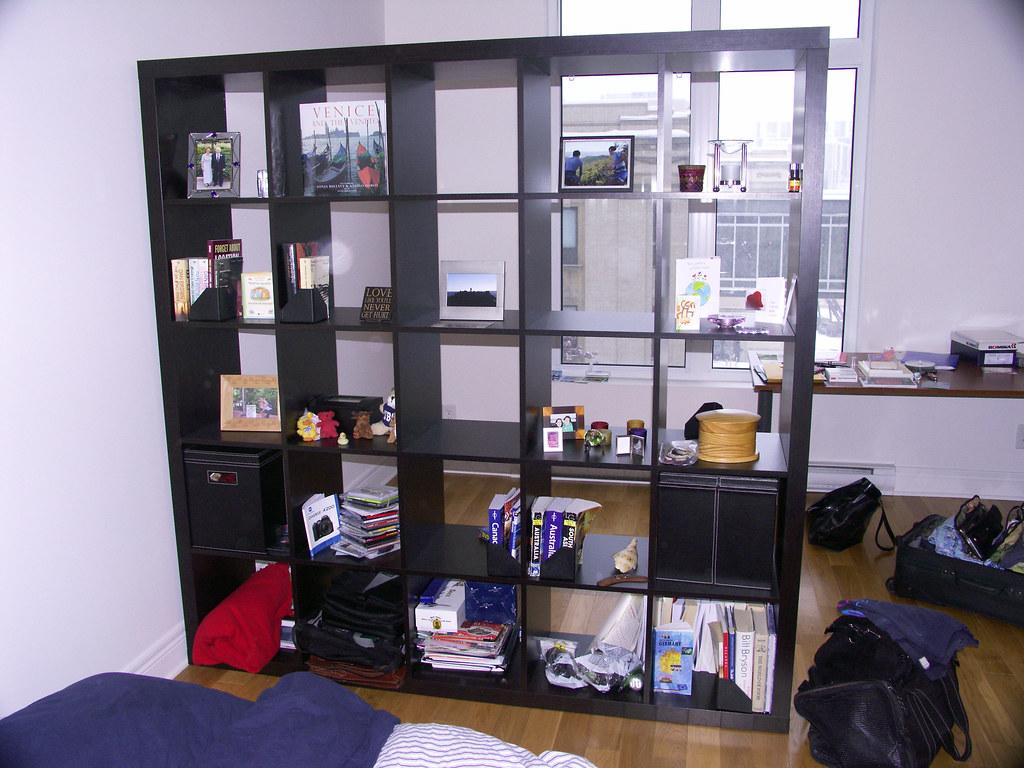 Large shelf room divider ikea expedit ikea expedit 5x flickr