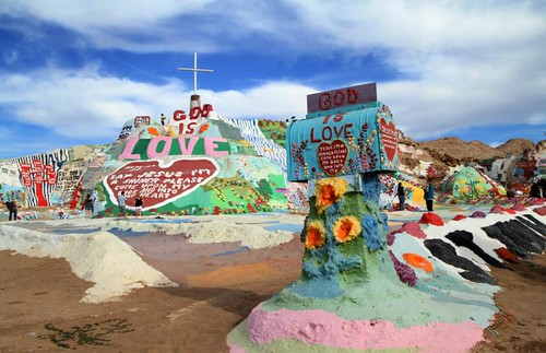 Salvation Mountain USA | by Renee Silverman