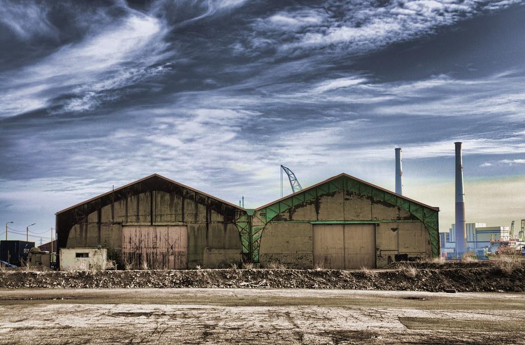 Le havre harbour hangar 43 on quai du bresil laurent for 3d architecture le havre