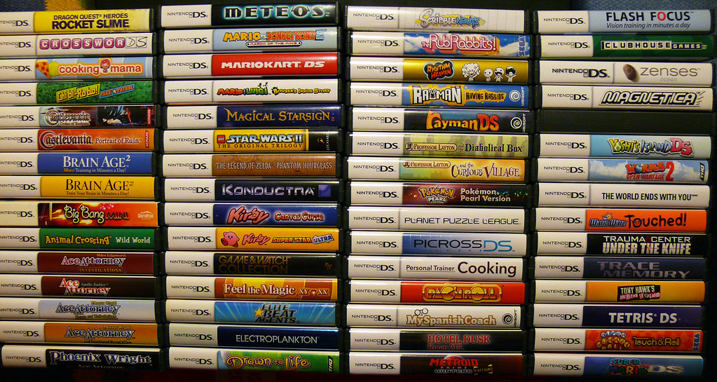 Nintendo Ds Collection March 2010 Next To Be Added Pokemo Flickr