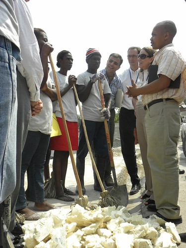 Rebeca Grynspan's visit to Port-au-Prince | by United Nations Development Programme