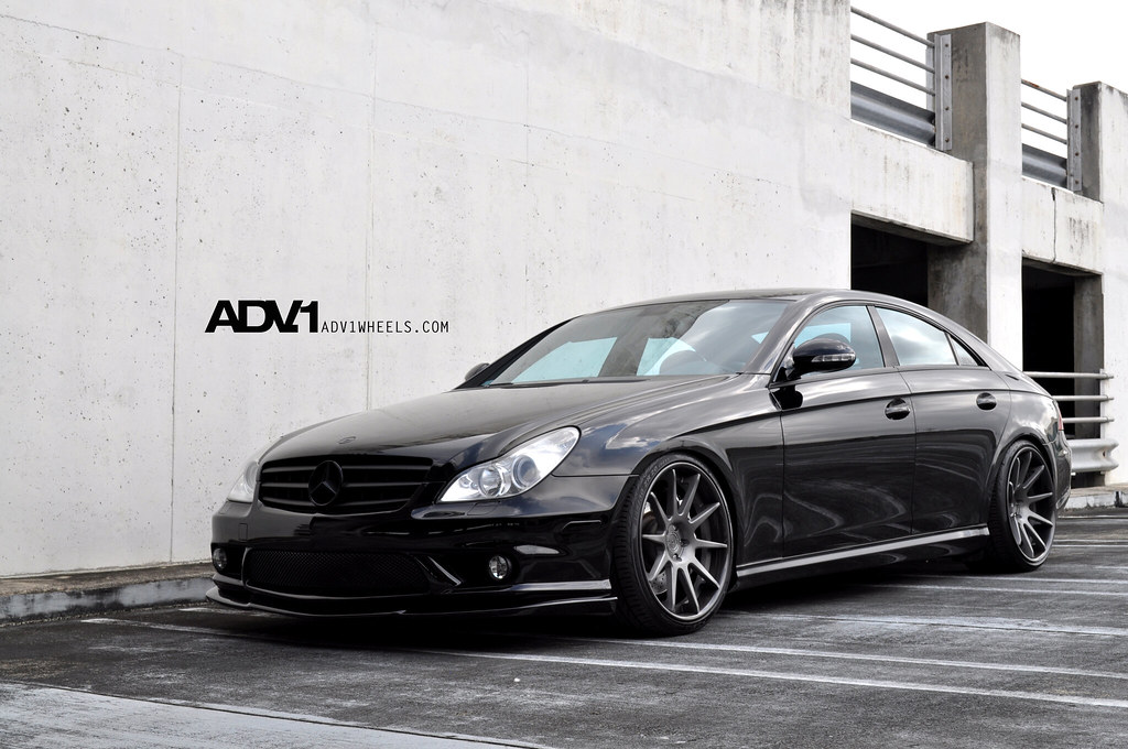 Cls55 Amg On Adv10 Deep Concave Wheels Cls55 Amg On