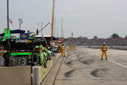 Milwaukee Pit Lane | by IndyCar Series