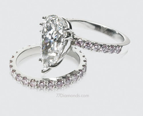 Bespoke engagement ring and wedding band set | A superb GIA … | Flickr