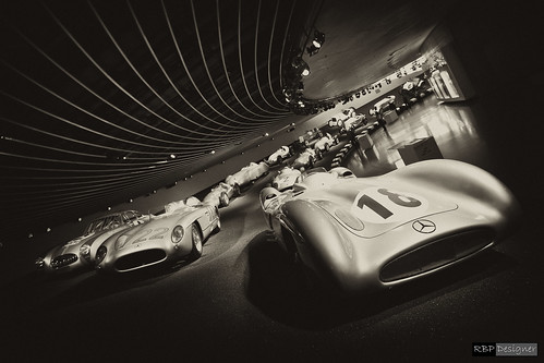 Silver Arrows - Mercedes-Benz Museum | by rbpdesigner