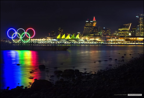 Vancouver's Olympic Rings | by Clayton Perry Photoworks