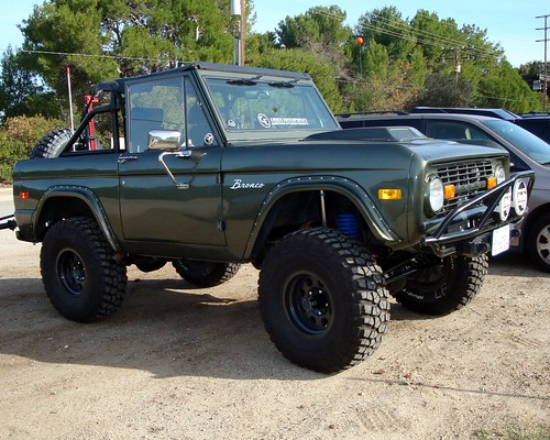 Gen 1 Ford Bronco The Ford Bronco Was A Sport Utility