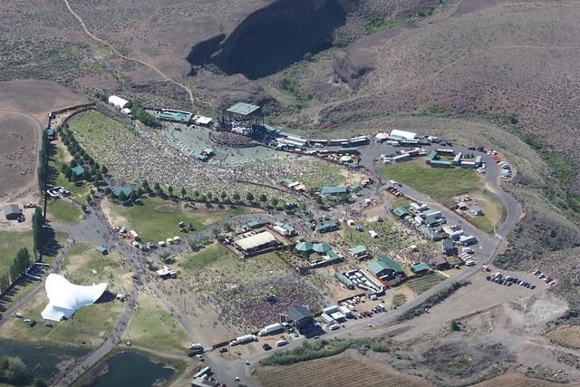 Sasquatch Festival Map