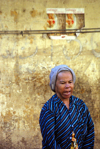 Lady in Kratie, Cambodia | by The Hungry Cyclist