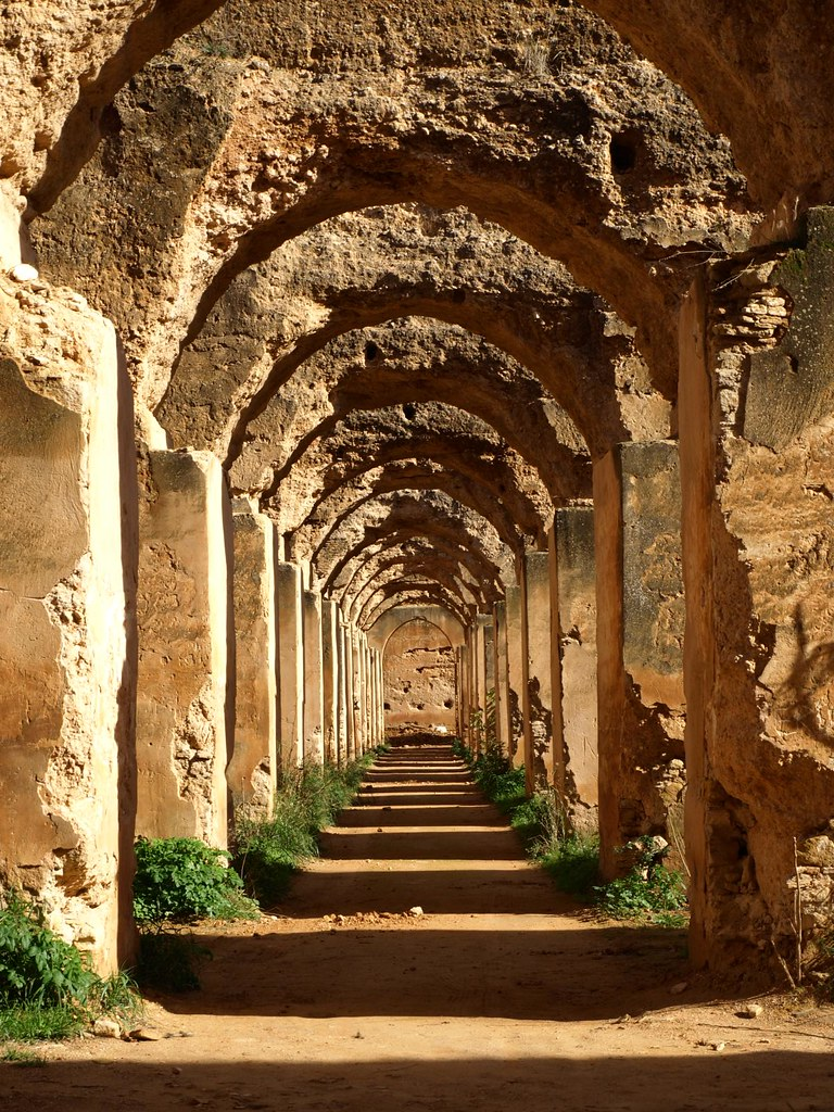 The Royal Stables Meknes Please Don T Use This Image On