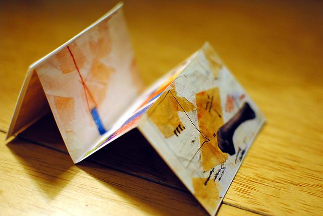 Business Card Back Accordion Fold Elizabeth Flickr