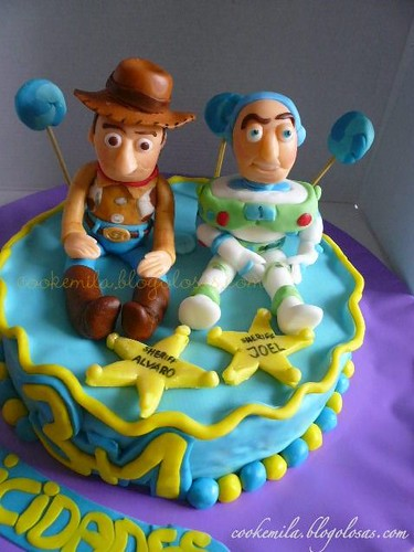 Woody And Buzz Cake Images