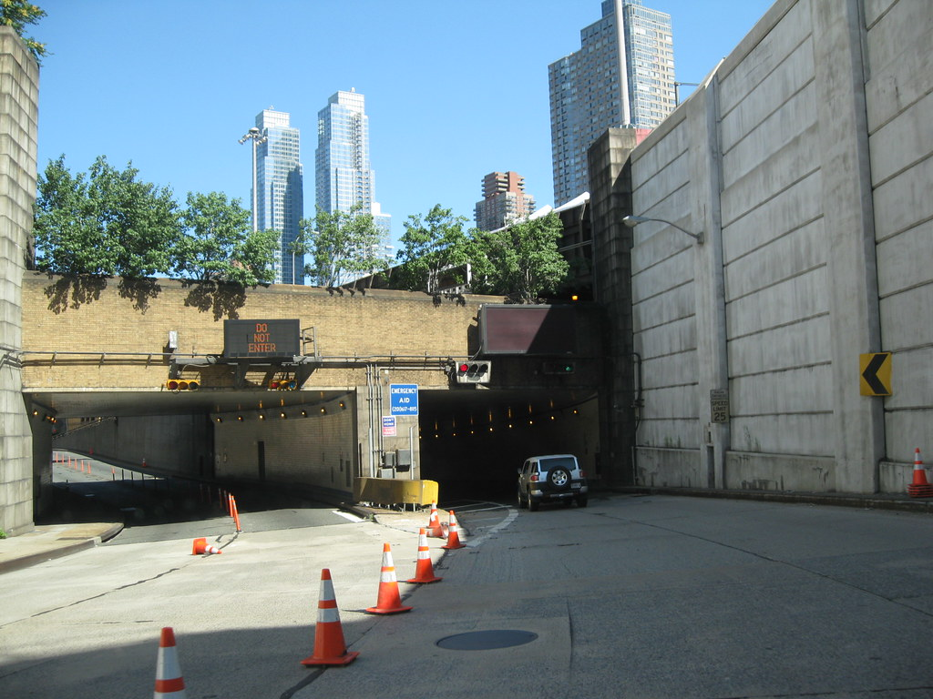 Dyer Avenue Lincoln Tunnel Expressway Manhattan New Y