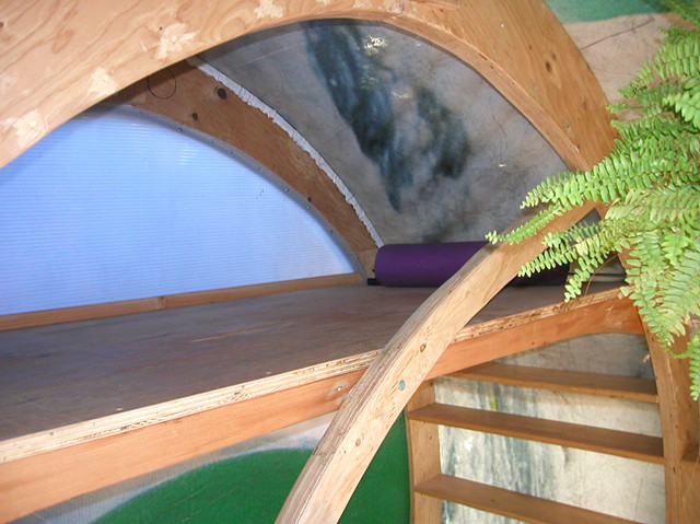 tree house bunk bed   graceful, sweeping, curved lines enhan…   flickr
