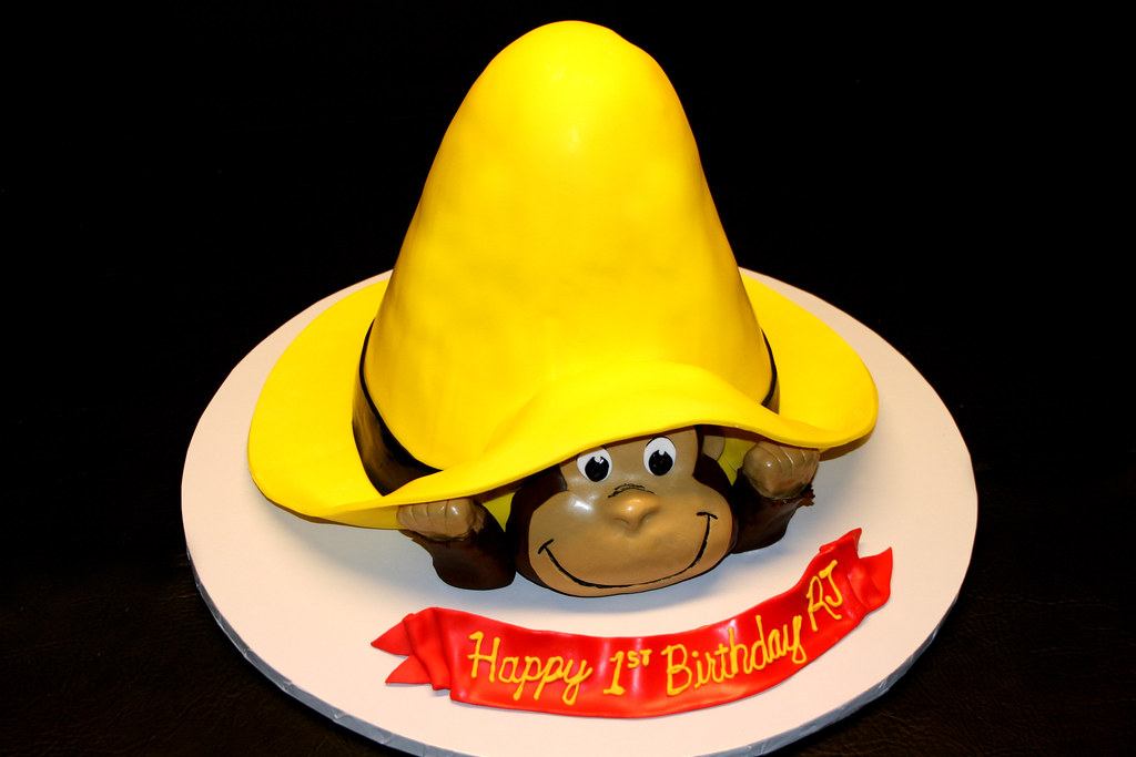 Curious George Decorations Cake