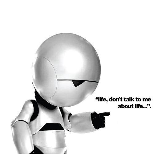 Marvin Our Favourite Gpp Robot Follow Us Objetitos