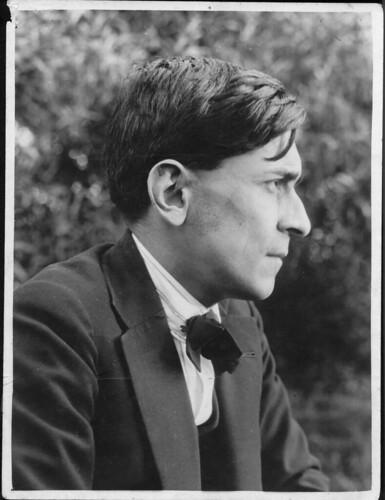 José Carlos Mariátegui. Fotografía tomada por José Malanca en 1928.
