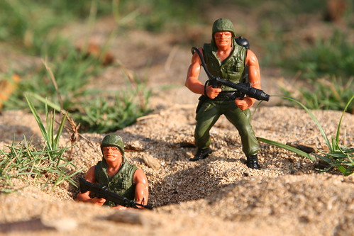 "Mattel ""Heroes In Action"" Soldiers 