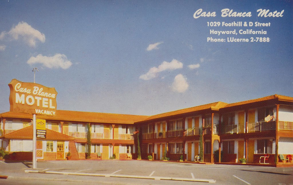 Casa Blanca Motel - Hayward, California