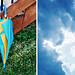 Project 365 2010 - Day 93 - Unused Umbrella & Kansas Sky