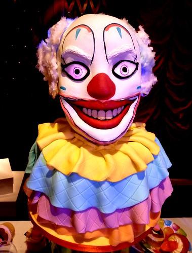 Creepy Clown Cake